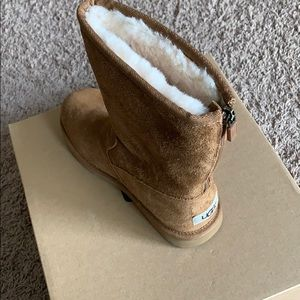 Brown UGG books